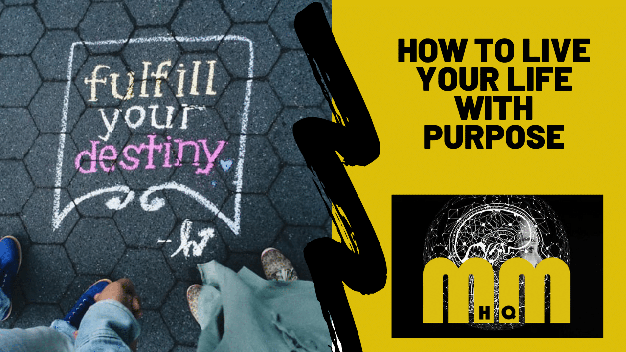 How To Live Your Life With Purpose